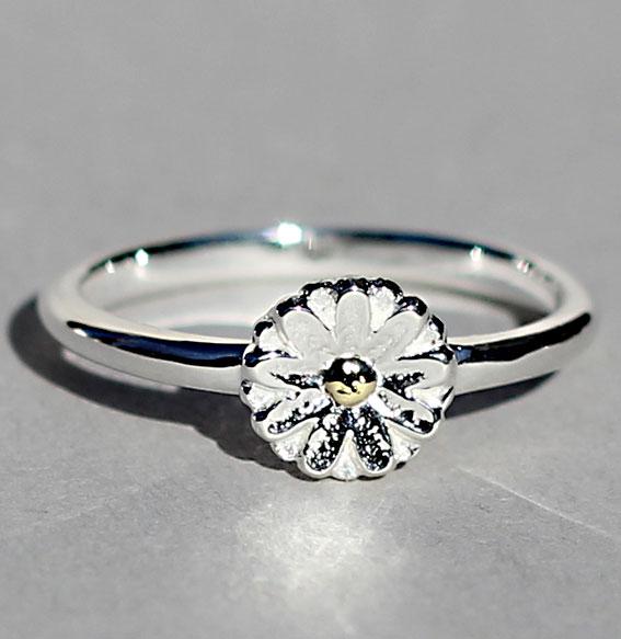 Silberring   Floret