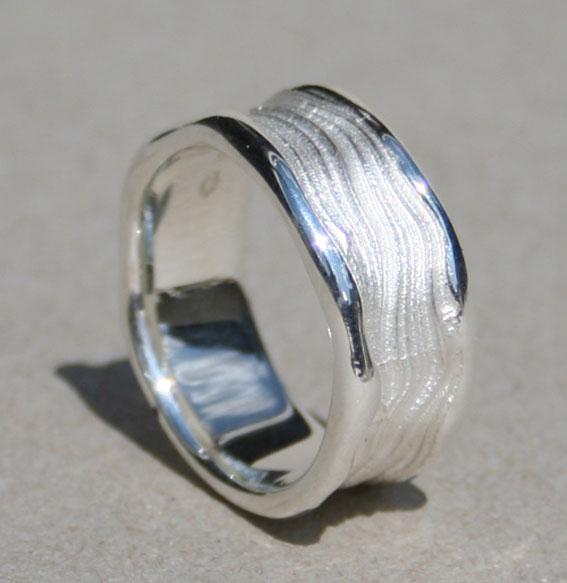 Silberring 9 mm