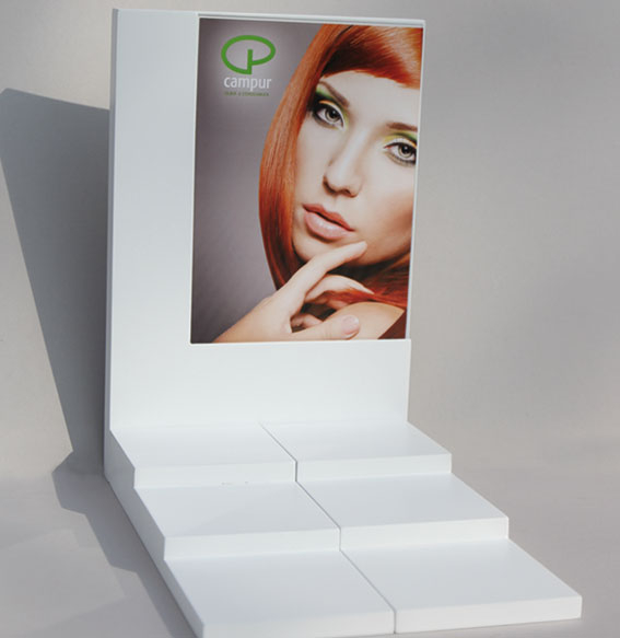 Display mit Posterhalterung | klein