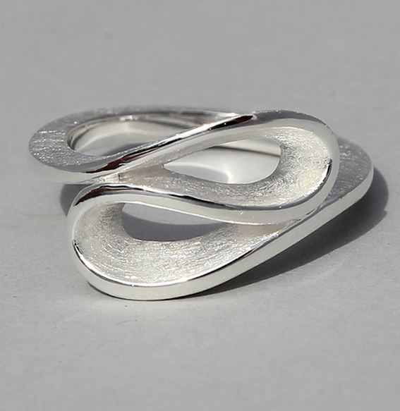 Silberring   Infinity