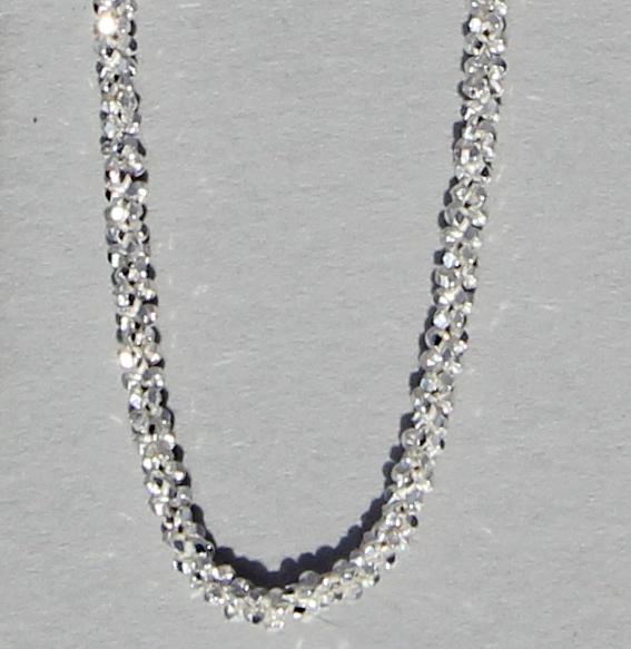Discokette silber 1,4 mm