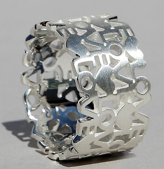 Silberring | Liebesbrief