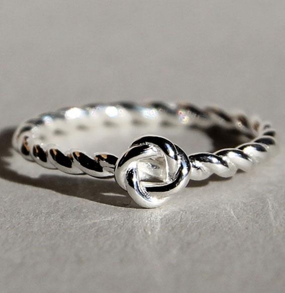 Silberring | Swirl small